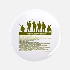 """SOLDIER'S CREED 3.5"""" Button (100 pack)"""