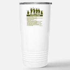 SOLDIER'S CREED Travel Mug