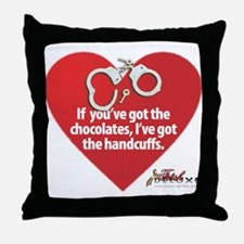 Bondage Valentine Throw Pillow