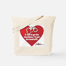 Bondage Valentine Tote Bag