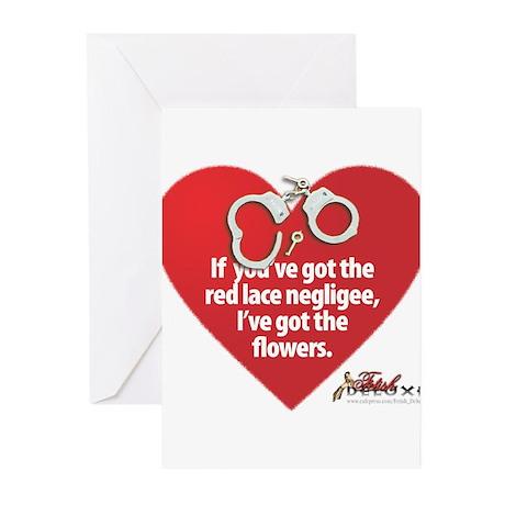 Vamp Valentine Greeting Cards (Pk of 10)