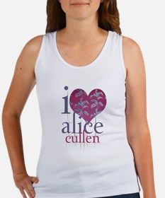 I heart alice cullen Women's Tank Top