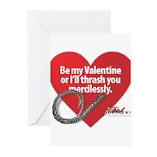 Dominatrix Valentine Greeting Cards (Pk of 10)