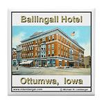 Ballingall Hotel Tile Coaster