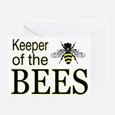 keeping bees Greeting Card