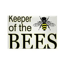 keeping bees Rectangle Magnet