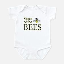 keeping bees Infant Bodysuit