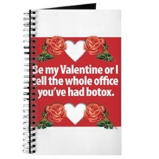 Botox Valentine Journal