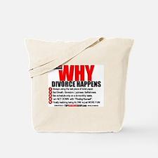Unique Divorce Tote Bag