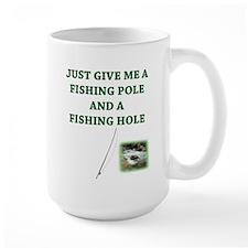 Fishing Hole & a Fishing Pole Mug