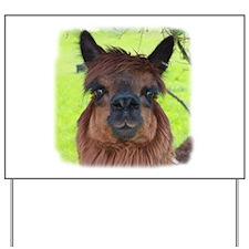 Cute Camelid Yard Sign