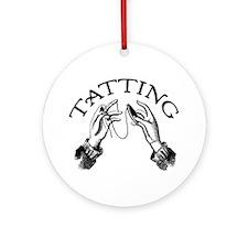 Tatting Ornament (Round)