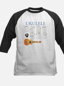 Ukulele 7 Chords Kids Baseball Jersey
