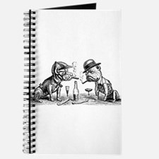 Dogs Drinking and Smoking Journal