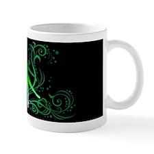 Dance - Scrolls Green/Black Mug