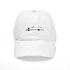 1964 Ford Thunderbird Convertible Baseball Cap