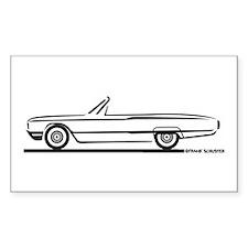 1964 Ford Thunderbird Convertible Decal