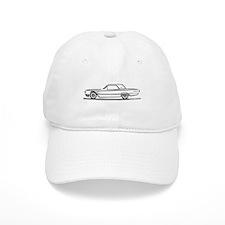 1965 Ford Thunderbird Hardtop Baseball Cap