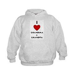 I LOVE GRANDMA AND GRANDPA Hoodie