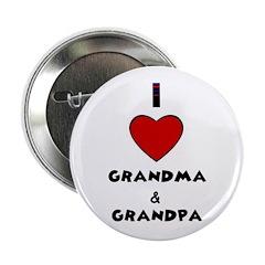 I LOVE GRANDMA AND GRANDPA Button