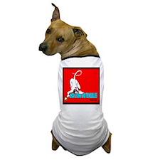 Angry Johnny Devil Girl Dog T-Shirt