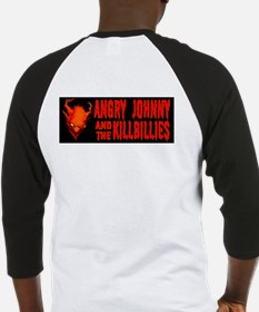 Angry Johnny Devil Girl Baseball Jersey