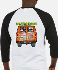 Angry Johnny Crankyville Trolley Baseball Jersey