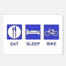 Eat Sleep Ride Postcards (Package of 8)