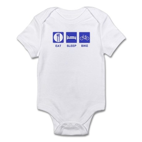Eat Sleep Ride Infant Bodysuit