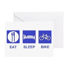 Eat Sleep Ride Greeting Card