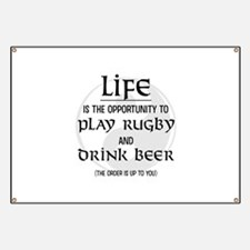 Rugby and Beer Banner
