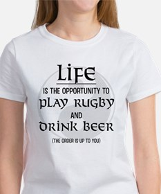 Rugby and Beer Tee