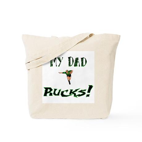 My Dad Rucks Tote Bag