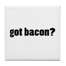 got bacon? Tile Coaster