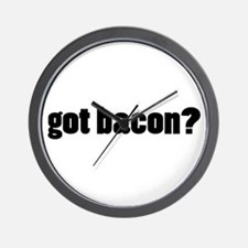 got bacon? Wall Clock