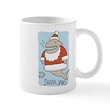 Santa Jaws Mug