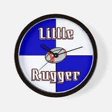 Little Rugger Wall Clock