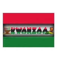 Kwanzza Postcards (Package of 8)