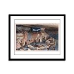Mystery Cave Framed Panel Print