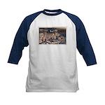 Mystery Cave Kids Baseball Jersey