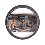 Mystery Cave Wall Clock