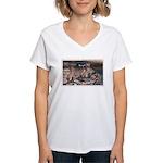 Mystery Cave Women's V-Neck T-Shirt