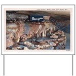 Mystery Cave Yard Sign