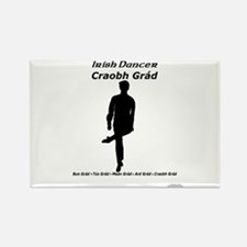 Boy Craobh Grád - Rectangle Magnet