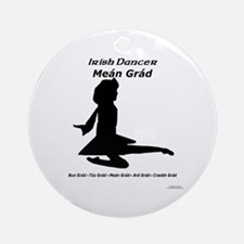 Girl Meán Grád - Ornament (Round)