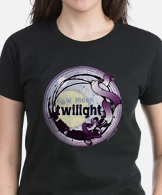 Twilight New Moon Grunge Ribbon Crest Tee