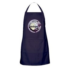 Twilight New Moon Grunge Ribbon Crest Apron (dark)