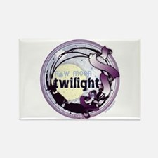 Twilight New Moon Grunge Ribbon Crest Rectangle Ma