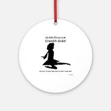 Girl Craobh Grád - Ornament (Round)