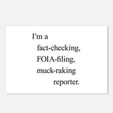 I'm a reporter Postcards (Package of 8)